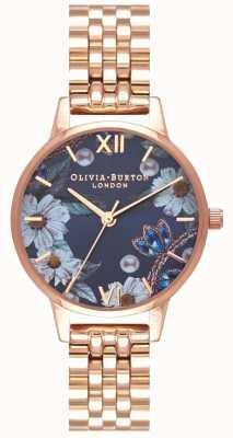 Olivia Burton | Frauen | bejeweled florals | Roségold-Armband | OB16BF17