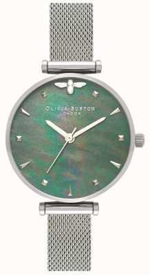 Olivia Burton | Frauen | Bienenkönigin | Perle | stahlgeflecht armband | OB16AM151
