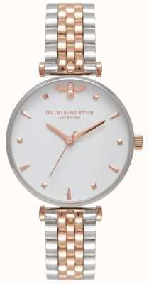 Olivia Burton | Frauen | Bienenkönigin | zweifarbiges T-Bar-Armband | OB16AM93
