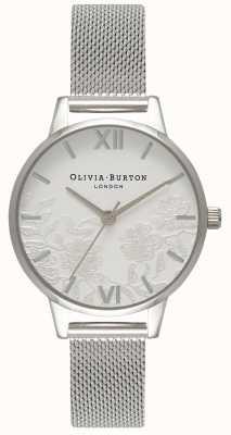 Olivia Burton | Frauen | Spitzendetail | Edelstahlgewebe Armband | OB16MV54
