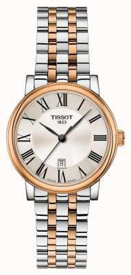 Tissot | carson premium lady | zweifarbiges Armband | T1222102203301