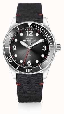 Michel Herbelin | herren | Trophäe | schwarzes Zifferblatt | schwarzes Armband | 12260/AN14