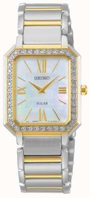 Seiko | konzeptionelle serie | klassisch | Solar | zweifarbiges Armband | SUP428P1