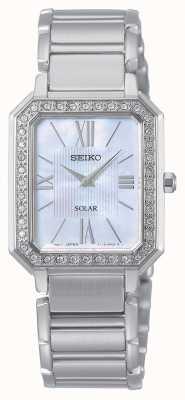 Seiko | konzeptionelle serie | klassisch | Solar | zweifarbiges Armband | SUP427P1