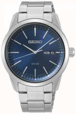 Seiko | konzeptionelle serie | klassisches solar | herren | blaues Zifferblatt | SNE525P1