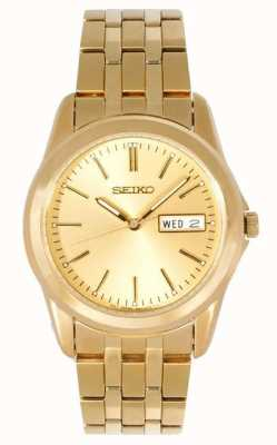 Seiko Herren Goldton-Armband SGGA48P1 Armbanduhr