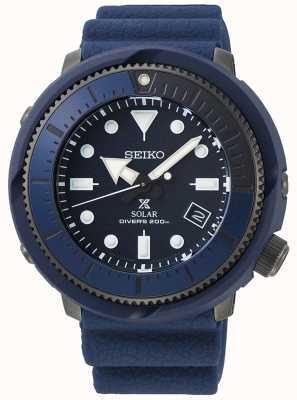 Seiko | prospex | Straßenserie | marineblaues Silikon | Taucher | SNE533P1