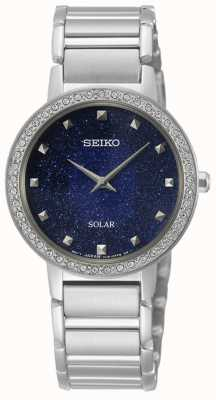 Seiko | konzeptionelle serie | Frau Solar | Kristall gesetzt SUP433P1