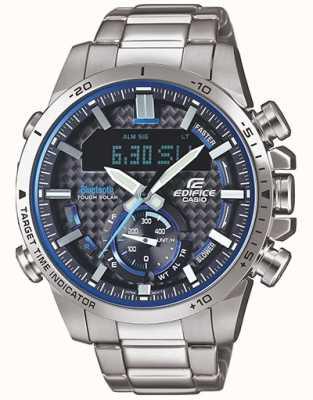 Casio | Gebäude herren | Standard-Chronograph | blaues Zifferblatt | ERA-110D-2AVEF