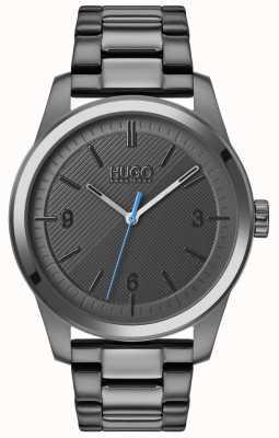 HUGO #create | graues ip armband | graues Zifferblatt 1530119