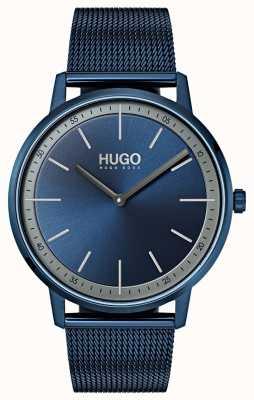 HUGO #exist | blaues ip mesh | blaues Zifferblatt 1520011