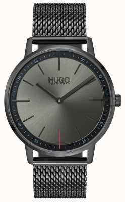 HUGO #exist | graues IP-Netz | graues Zifferblatt 1520012