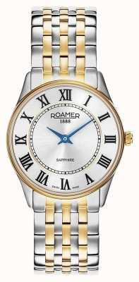 Roamer | Frauen | Sonate | zweifarbiges Armband | silbernes Zifferblatt | 520820-47-15-50