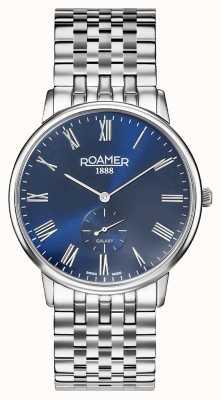 Roamer | Männergalaxie | Edelstahlarmband | blaues Zifferblatt | 620710-41-45-50