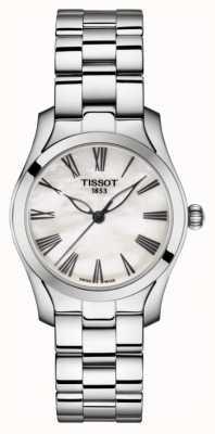 Tissot | t-wave | Damenarmband aus Edelstahl | Perlmutt T1122101111300