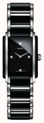 Rado | integrale Diamanten High-Tech-Keramik | quadratisches Zifferblatt | R20613712
