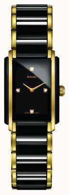 Rado | integrale Diamanten High-Tech-Keramik | quadratisches Zifferblatt | R20845712