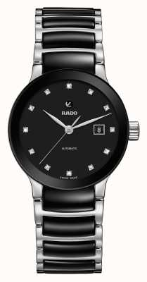 Rado | centrix diamonds automatic | Hightech-Keramik R30009752