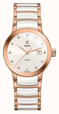 Rado | Automatische Diamanten von centrix High-Tech-Keramik | Weiß R30183742
