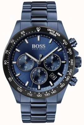 BOSS | Männer | hero sport lux | blaues Stahlband | blaues Zifferblatt | 1513758