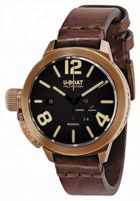 U-Boat Classico 50 Bronzo ein braunes Armband 8104