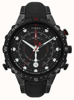 Timex | alliierte 45mm | schwarzes Stoffband | schwarzes Zifferblatt | TW2T76400