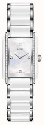 Rado Integrierte Diamant-Hightech-Keramikuhr mit quadratischem Zifferblatt R20215902