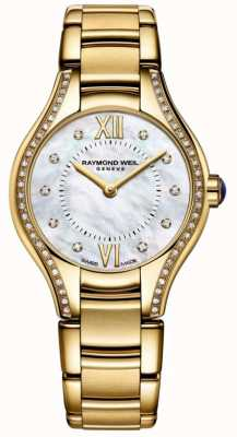 Raymond Weil | Frauen | Noämie | Diamant | goldenes pvd armband 5124-PS-00985