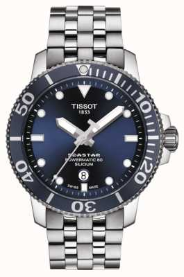Tissot | seastar 1000 powermatic | Edelstahlarmband | T1204071104101