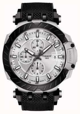 Tissot | t-race | automatischer Chronograph | schwarzes Kautschukband | T1154272703100