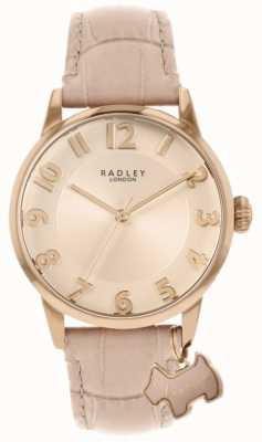 Radley Liverpool Straße | rosa Lederband | rosa zifferblatt | RY2872