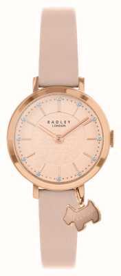 Radley Selby Straße | rosa Lederband | pink / roségold zifferblatt | RY2864
