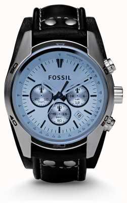 Fossil Mens blau Zifferblatt Chronograph zu sehen CH2564