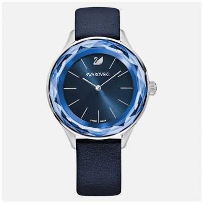 Swarovski Octea nova ls blau / blau / sts   blaues Lederband   5295349