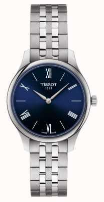 Tissot | tradition | Edelstahlarmband für Damen | blaues Zifferblatt | T0632091104800