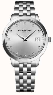 Raymond Weil Frauen | toccata | Diamant | silbernes Zifferblatt 5388-ST-65081