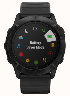 Garmin Fenix 6x Pro Gorilla Glas | schwarz | Multisport-Smartwatch 010-02157-01