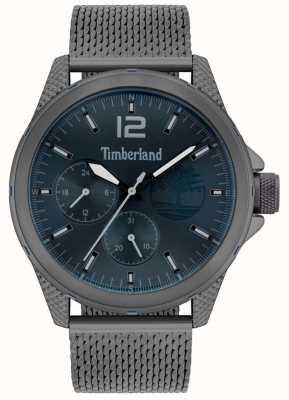 Timberland | Herrentaunton | gunmetal grey mesh armband | Marinezifferblatt | 15944JYU/03MM