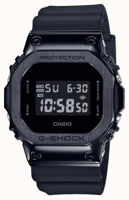 Casio G-Schock Metall Lünette Serie | schwarzes Harzarmband | Digital GM-5600B-1ER