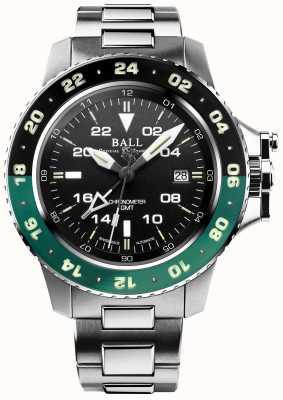 Ball Watch Company | Ingenieur Kohlenwasserstoff | aerogmt ii | DG2018C-S11C-BK