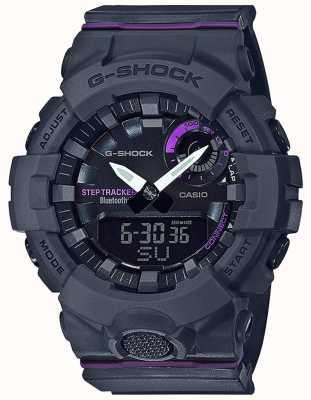 Casio | g-shock g-squad | graues Kautschukband | Bluetooth Smart GMA-B800-8AER