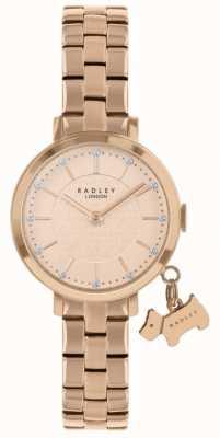 Radley Selby Street Rose vergoldete Uhr RY4398