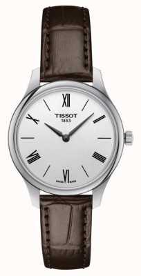 Tissot | Tradition 5.5 Dame | braunes Leder | T0632091603800