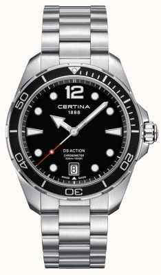 Certina Herren | ds Aktion | Chronometer | rostfreier Stahl C0324511105700
