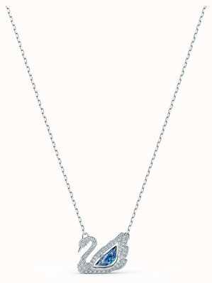 Swarovski | tanzender Schwan | blaue Kristallkette | 5533397