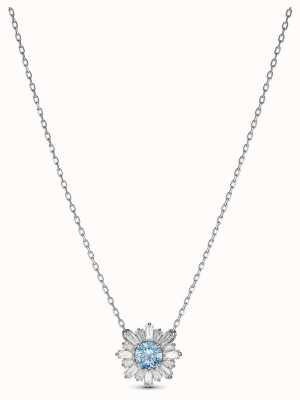 Swarovski | Sonnenschein | rhodiniert | blauer Kristall | anhänger | 5536742