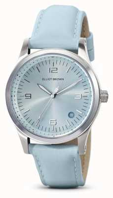Elliot Brown | Frauen | kimmeridge | aqua sunray zifferblatt | Aquagurt | 405-015-L61