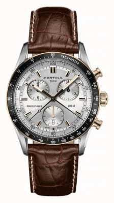 Certina Ds-2 Chronograph 1/100 Sek. Braunes Lederband C0244472603100