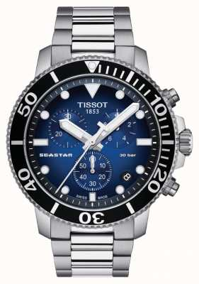 Tissot Herren Seastar 30 Bar 1000 Chrongraph T1204171104101