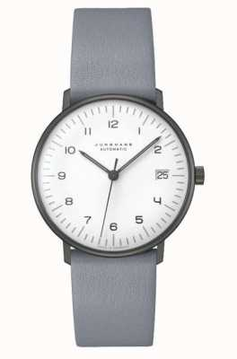 Junghans Max Rechnung automatisches Saphirglas | 38mm schwarz & weiß 027/4007.02